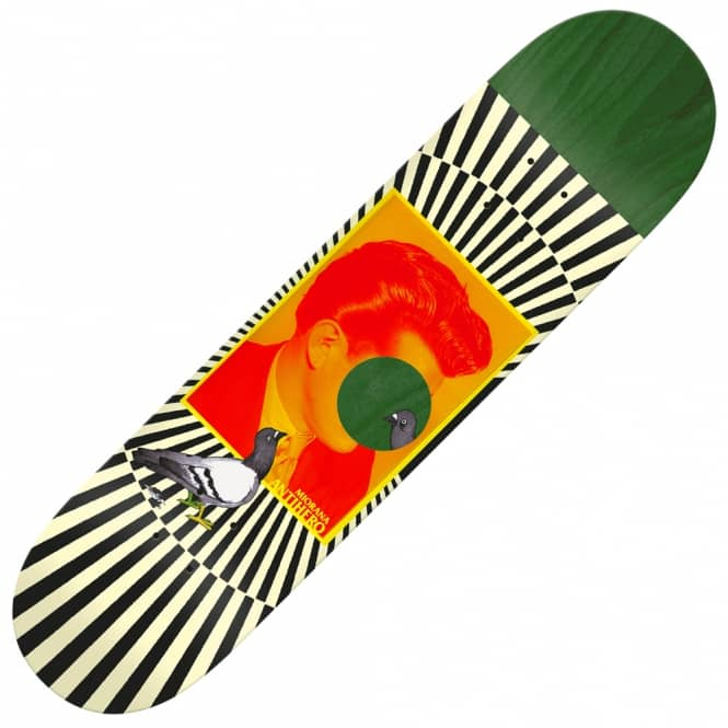 Antihero Skateboards Tony Miorana Boutique Series Skateboard Deck 8.18