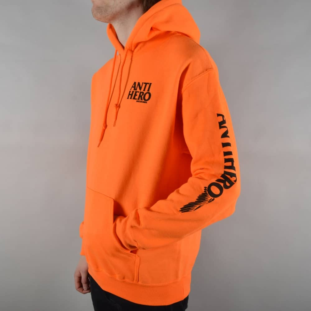 b63cb99f1af3 Antihero Skateboards Winghero Pullover Hoodie - Safety Orange ...
