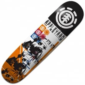 Element Skateboards Appleyard Lo-Fi Skateboard Deck 8.0""