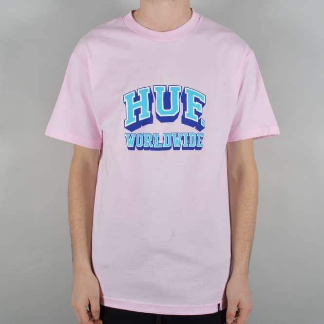HUF Arch Skate T-Shirt - Pink