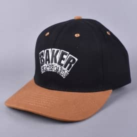 Arch Velcro Strap Cap - Black/Brown
