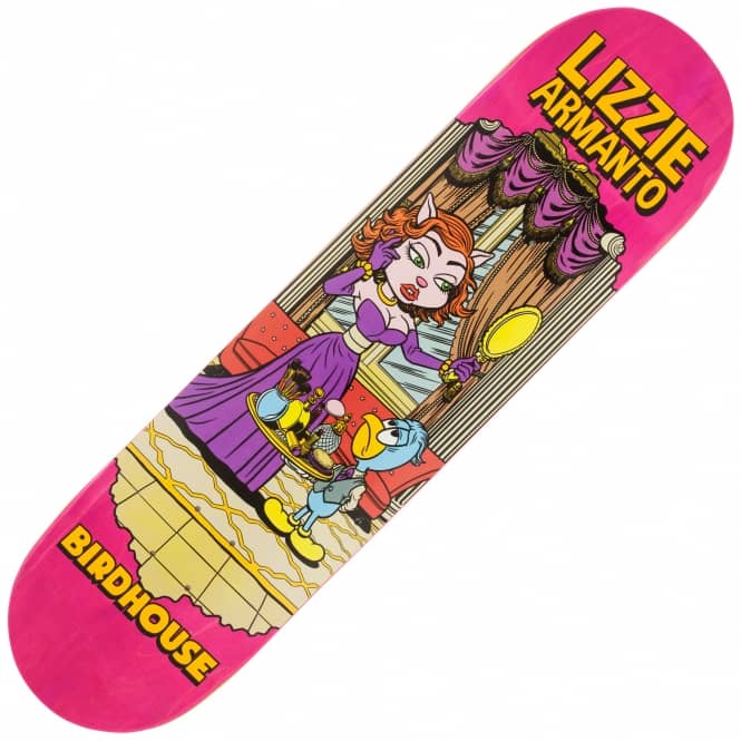 Birdhouse Armanto Vices (Pink Stain) Skateboard Deck 8.0