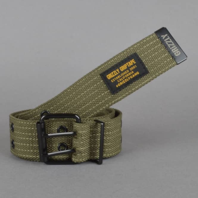Grizzly Griptape Army Belt - Military Green