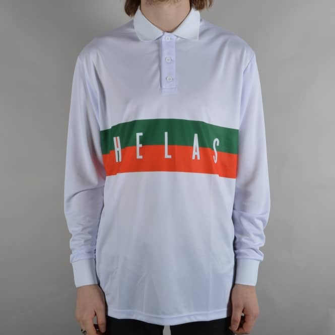 Helas Caps Athletico Long Sleeve Jersey - White