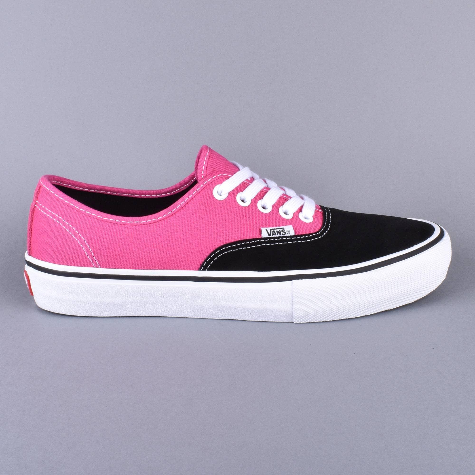 Vans Authentic Pro Skate Shoes - Black