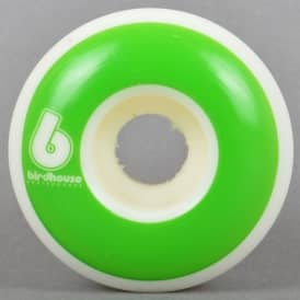 B Logo Green Skateboard Wheels 54mm