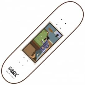 Baines Snooker Stamps Series Skateboard Deck 8.25