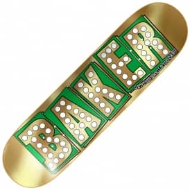 Bake Junt Gold Foil Skateboard Deck 8.25