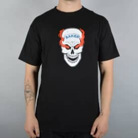 Blood Shot Skate T-Shirt - Black