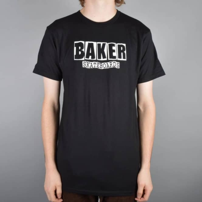 Baker Skateboards Brand Logo Skate T-Shirt - Black