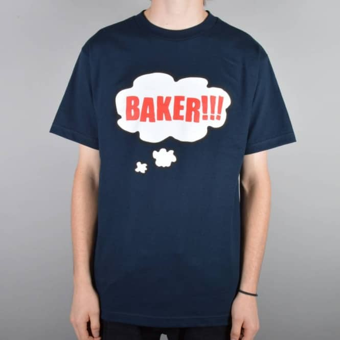 Baker Skateboards Bubble Skate T-Shirt - Navy