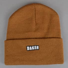 Baker Skateboards Chico Skate Beanie - Brown