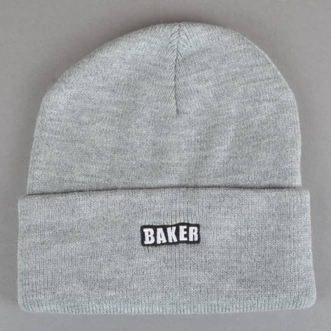 Baker Skateboards Chico Skate Beanie - Heather Grey