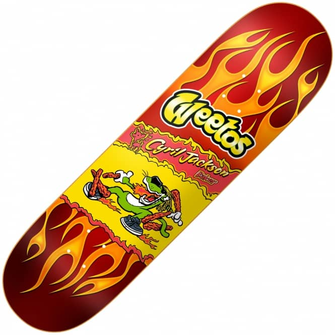 Baker Skateboards Cyril Hot Weetos Skateboard Deck 8.0