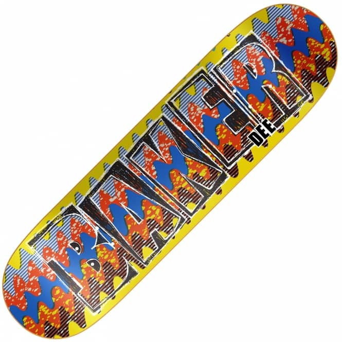 Baker Skateboards Dee Dashiki Skateboard Deck 7.75