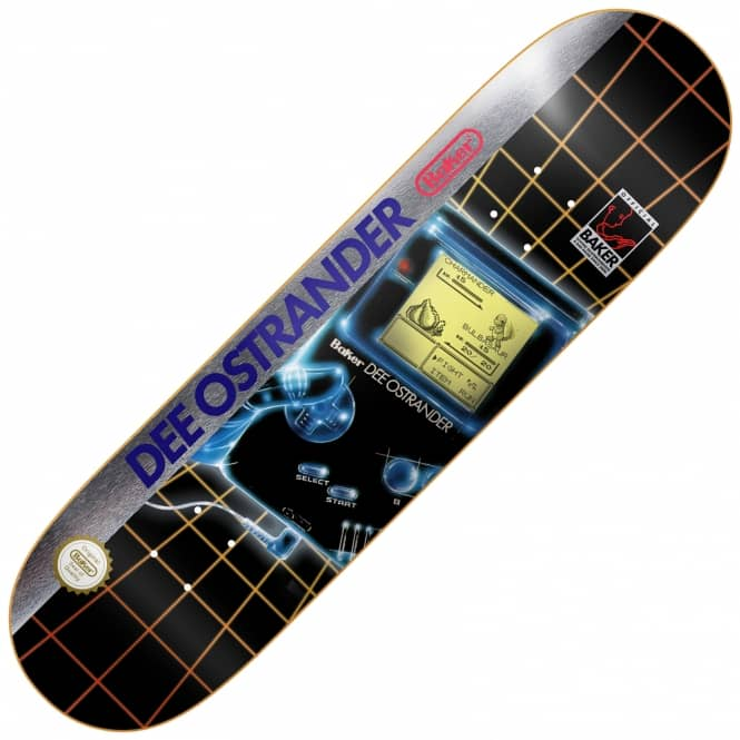 Baker Skateboards Dee Gamer Skateboard Deck 8.0