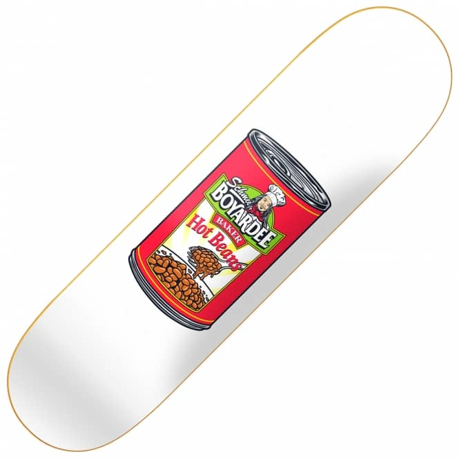 Baker Skateboards Dee Hot Beans Skateboard Deck 8.125