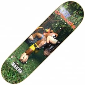Baker Skateboards Dee Mumbo Skateboard Deck 8.0""