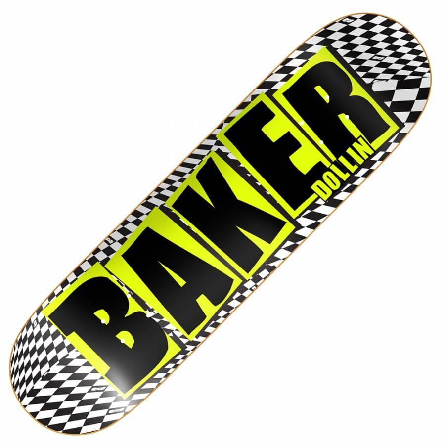 baker skateboards dollin brand name skateboard deck 825