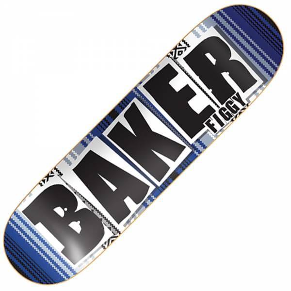 baker skateboards figgy brand name skateboard deck 80