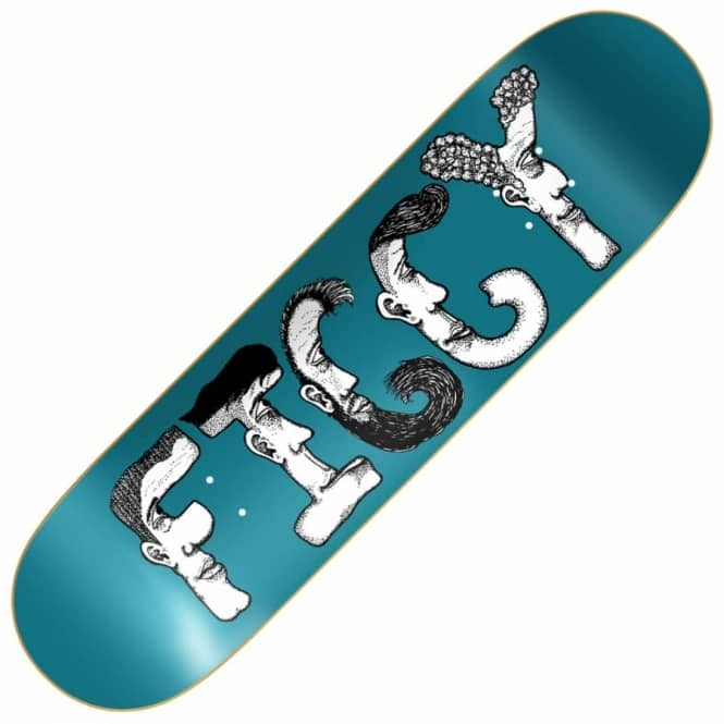 Baker Skateboards Figgy Dabble Skateboard Deck 8.3875