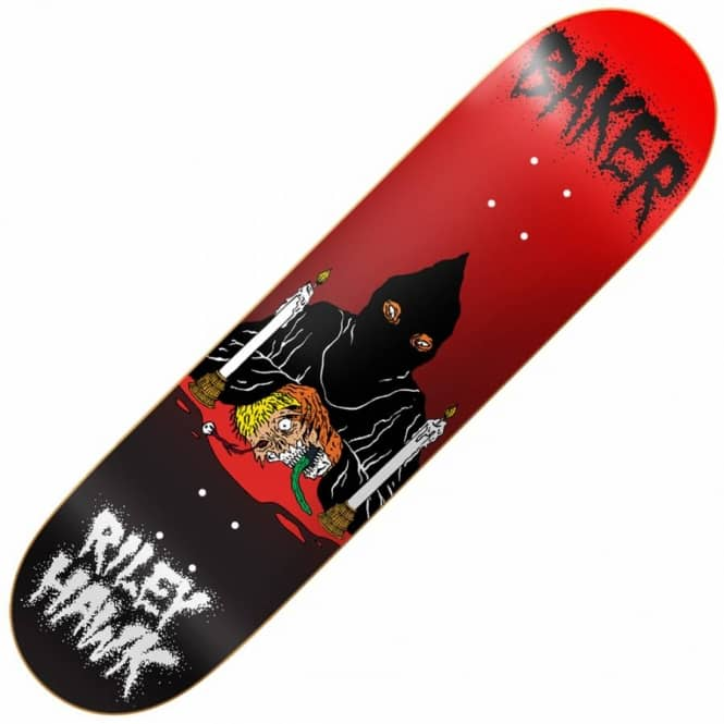 Baker Skateboards Hawk Executioner Skateboard Deck 8.38