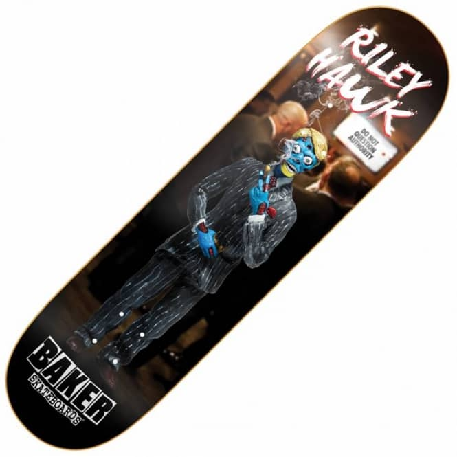 Baker Skateboards Hawk Obey Skateboard Deck 8.0''