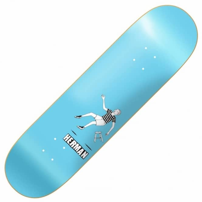 Baker Skateboards Herman Doodles Skateboard Deck 8.25''