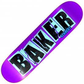 Baker Skateboards Kennedy Brand Name Tear Skateboard Deck 8.0""