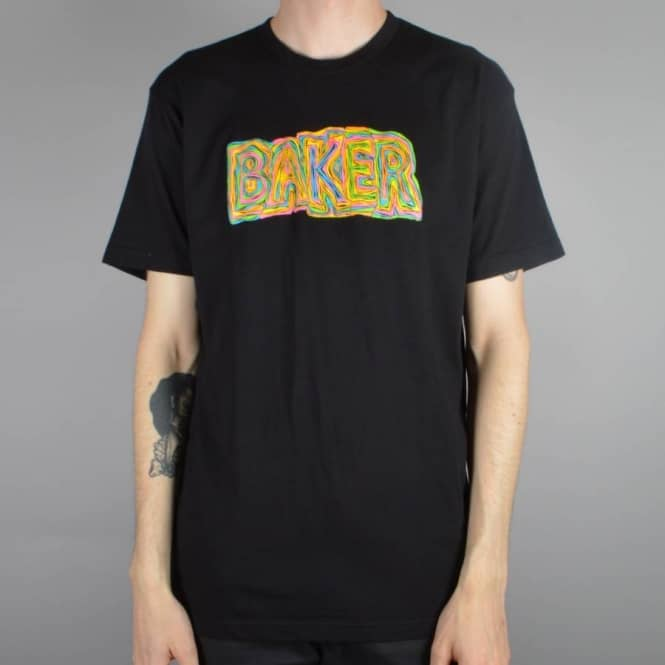Baker Skateboards Labyrinth Skate T-Shirt - Black