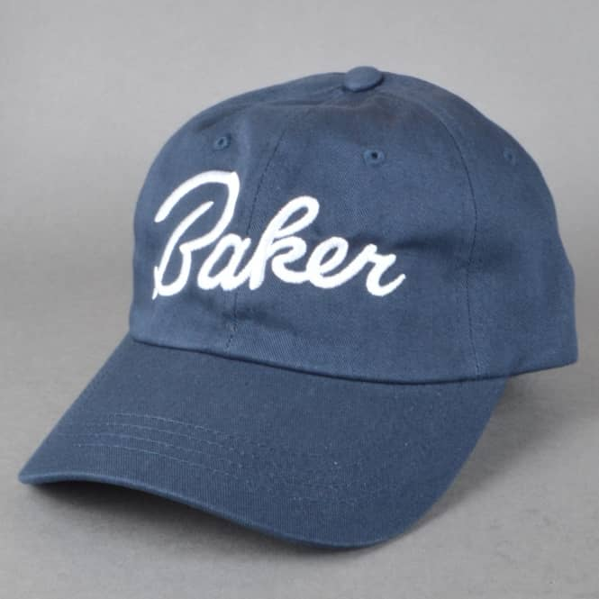 Baker Skateboards Lucky Strapback Dad Cap - Navy