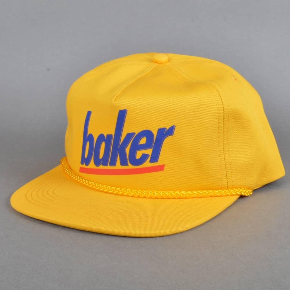 Baker Skateboards Milkman 5 Panel Cap - Yellow - SKATE CLOTHING from ... 9001f4b8495