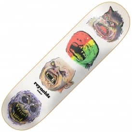 Baker Skateboards Reynolds Monsters Skateboard Deck 8.125""