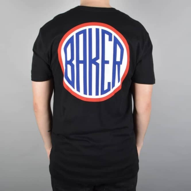Baker Skateboards ROTC Skate T-Shirt - Black