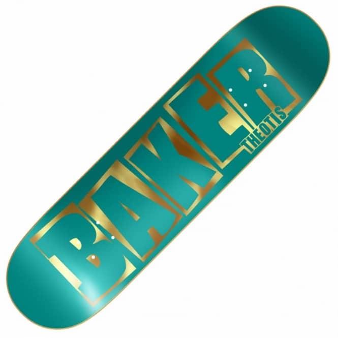 baker skateboards theotis brand name tealgold skateboard
