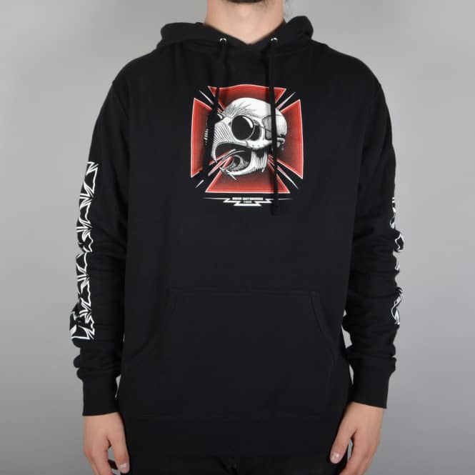 Baker Skateboards Tribute Pullover Hoodie - Black
