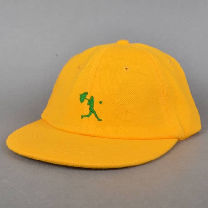 Helas Caps Baller 6 Panel Strapback Cap - Yellow/Green