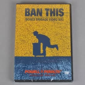 Ban This (Bones Brigade Video Six) Skateboard DVD