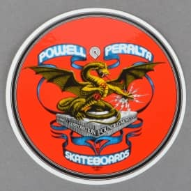 Banner Dragon Skateboard Sticker 4