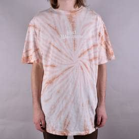 Bar Bird Tie-Dye T-Shirt - Coral Haze
