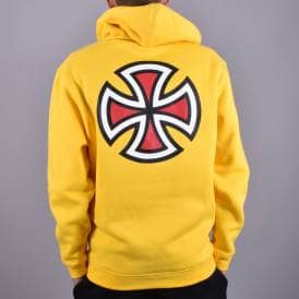 0b56e522743 Bar Cross Pullover Hood - Yellow