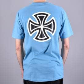 45aae0be2 Bar Cross Skate T-Shirt - Carolina Blue Back Print. Independent Trucks ...