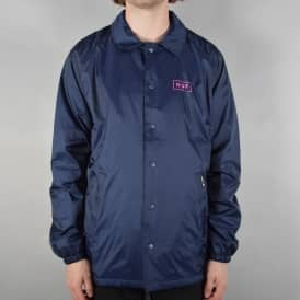 Bar Logo Coaches Jacket - Navy