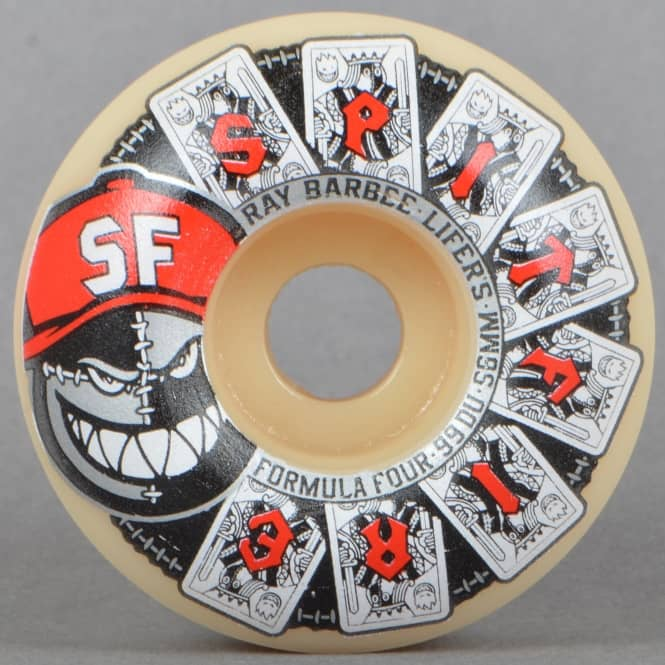 Spitfire Wheels Barbee Lifers Formula Four 99D Skateboard Wheels 56mm