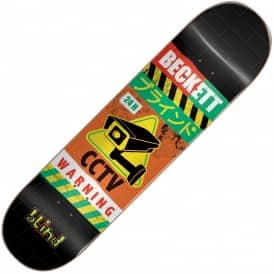 Beckett Surveillance Skateboard Deck 8.5