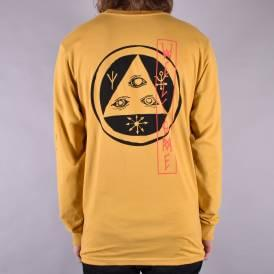 Beckon Longsleeve T-Shirt - Mustard Yellow