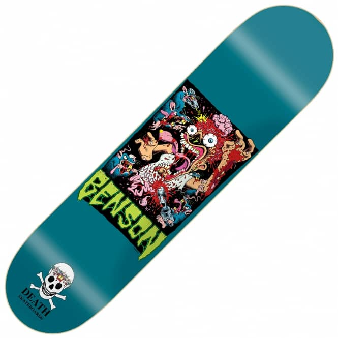 Death Skateboards Benson Psycho Rat 2 Skateboard Deck 8.38