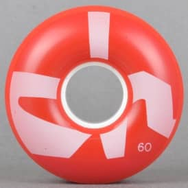 Big Chunk Cruiser 80A Red Skateboard Wheels 60mm
