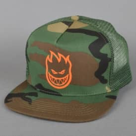 Bighead Trucker Cap - Camo/Orange
