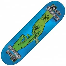 Bingaman/Gravette The Sacred Pass Blue Skateboard Deck 8.375